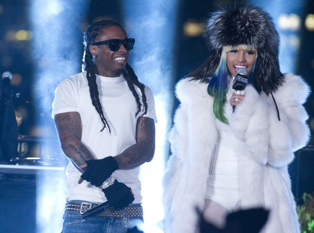Nicki Minaj and lil wayne
