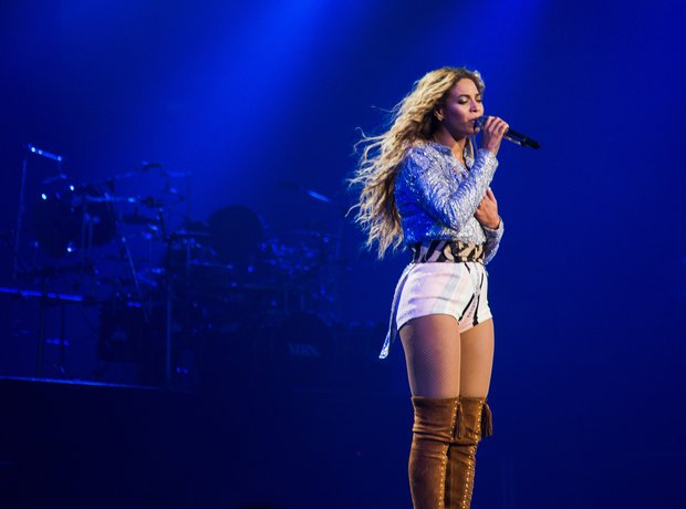 Beyonce on tour