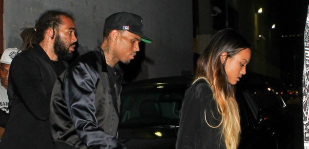 Chris Brown and Karrueche Tran 2013