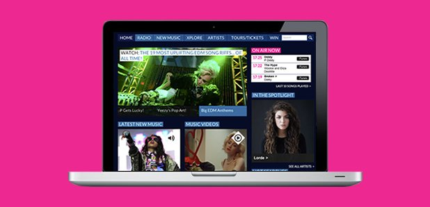 Capital XTRA online