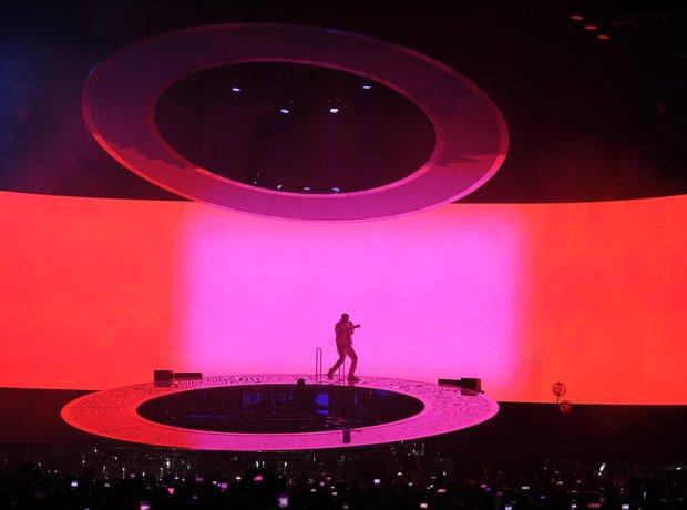 Drake on tour