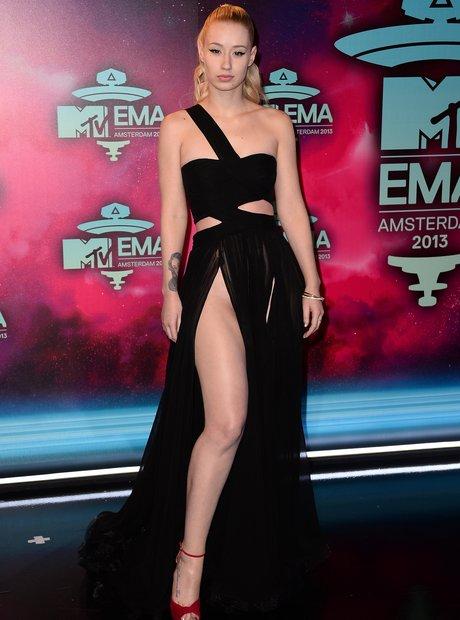 Iggy Azalea on the MTV EMAs 2013 Red Carpet