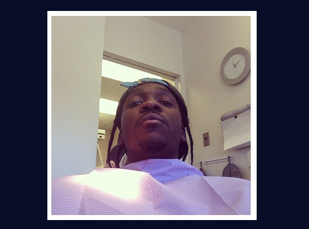 Pusha T having wisdom teeth out