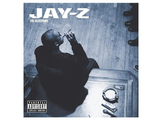 Jay Z, 'The Blueprint' album cover artwork