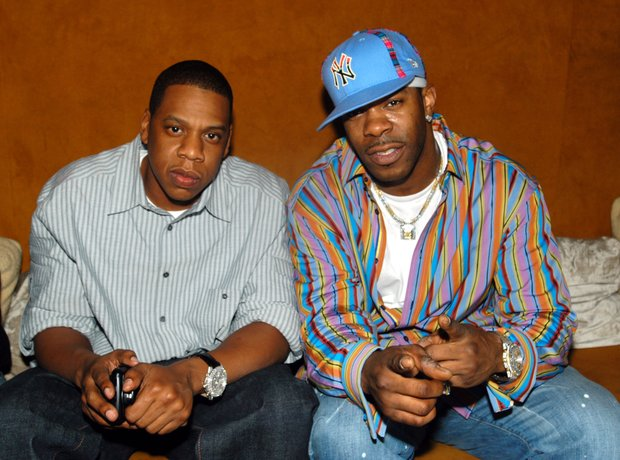 Jay Z and Busta Rhymes