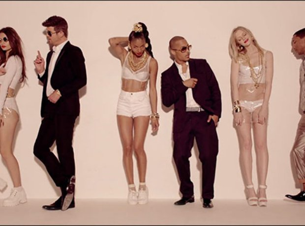 Robin Thicke feat. Pharrell - 'Blurred Lines' -