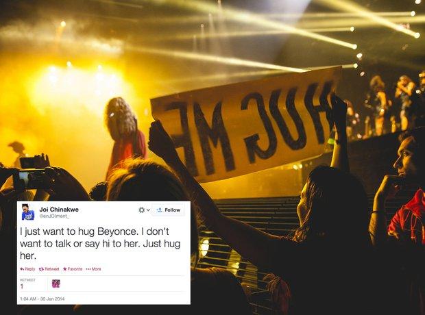 Beyonce fan problem tweets