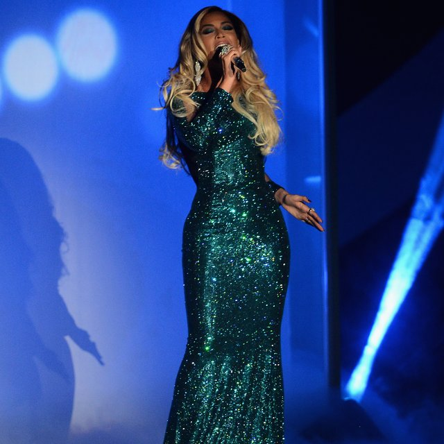 Brit Awards 2014 Beyonce Beyonce at The Brit Awards