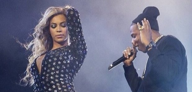 Beyonce and Jay Z at the O2 Arena in 2014