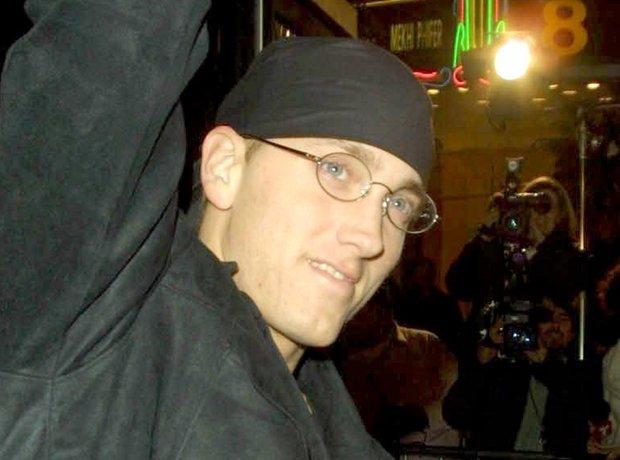 Eminem smiling