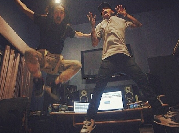 Kid Ink Steve Aoki Jumping
