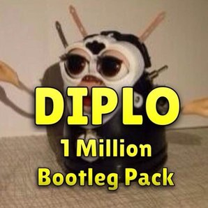 Diplo 1 million bootleg pack