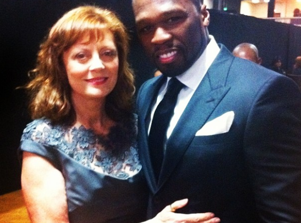 50 CENT susan sarandon