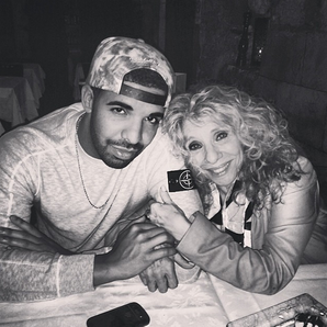 Drake and his mum Instagram