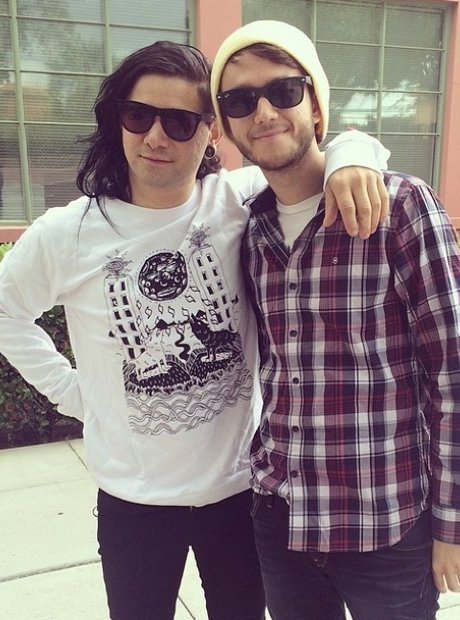 Zedd And Skrillex On Instagram