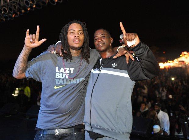 Waka Flocka and Gucci Mane