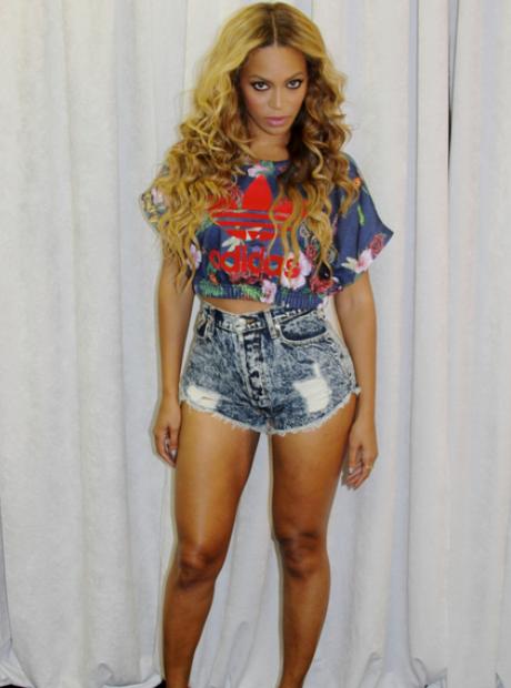 Beyonce adidas tshirt