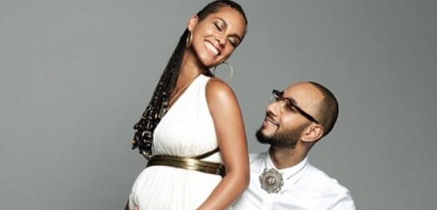 Alicia Keys Swizz Beatz pregnant