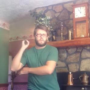 Man using numchuck going viral