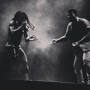 Drake and Lil Wayne on Vs tour