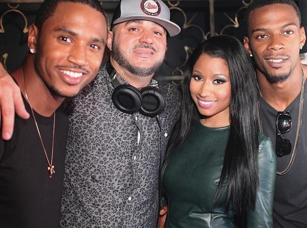 Nicki Minaj Trey Songz VMA's 2014