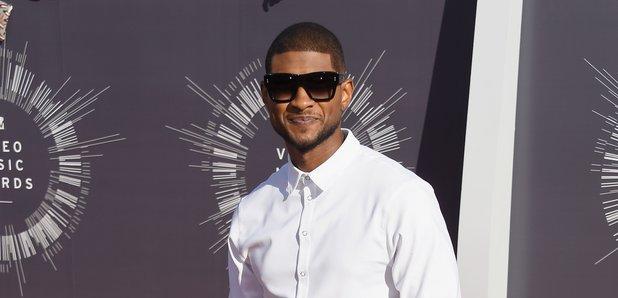 Usher MTV VMAs 2014 Red Carpet