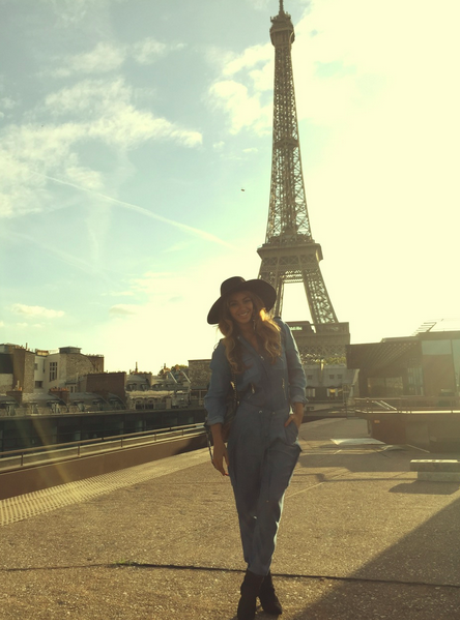 Beyonce in Paris