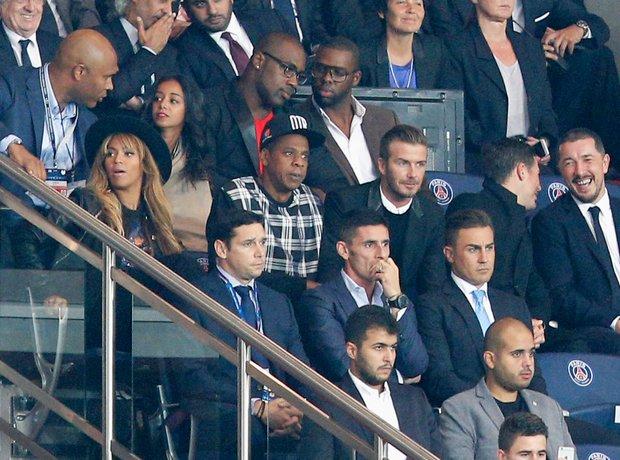 Jay Z David Beckham football