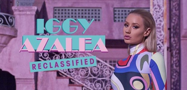 Iggy Azalea Reclassified Art