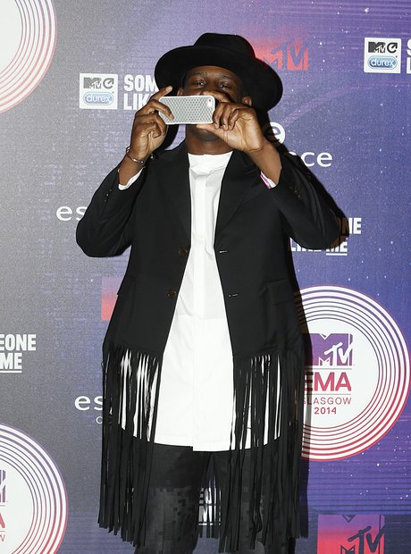 Labrinth MTV EMAs 2014 Arrivals