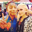 Gwen Stefani and Pharrell Williams at The Voice