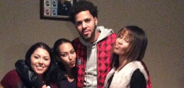 J Cole and fans