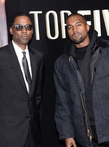 Chris Rock and Kanye West