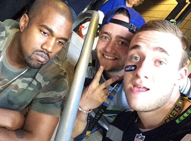 Kanye West sad Instagram selfie