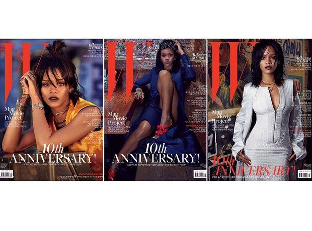 Rihanna W Magazine 2015