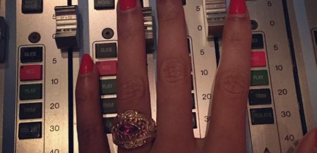 Beyonce sound desk