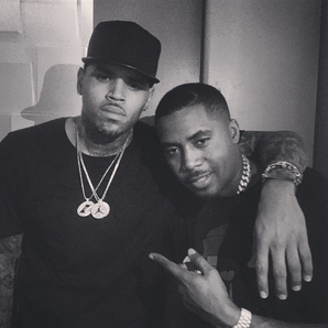 Chris Brown and Nas Instagram
