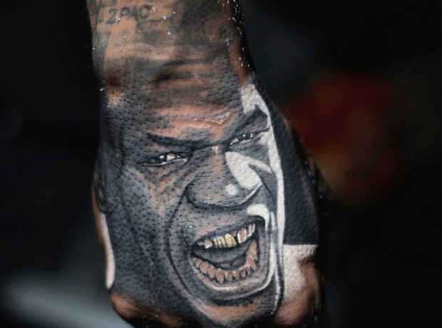 The Game Mike Tyson Tattoo