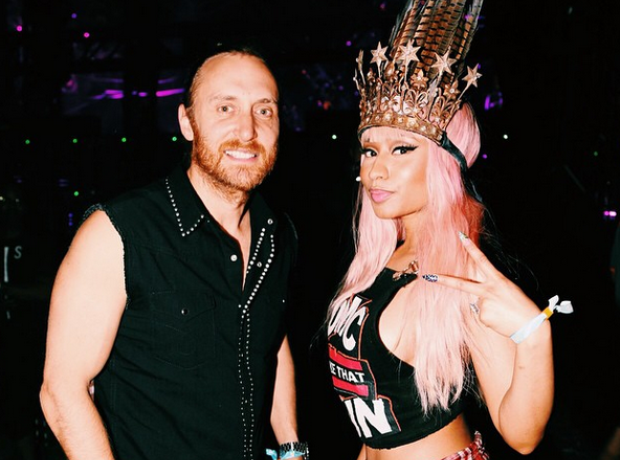 Nicki Minaj David Guetta Coachella 2015