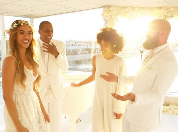 See All The Photos From Beyonces Mum Tina Knowles Wedding