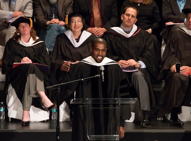Kanye West receives an honorary doctorate