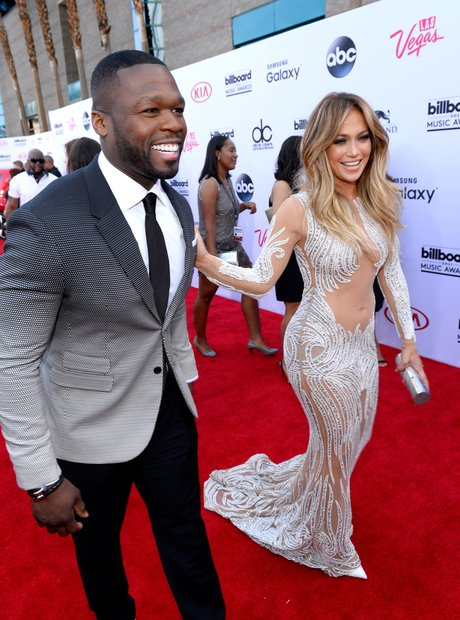 50 Cent and Jennifer Lopez Billboard Music Awards
