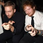 Calvin Harris and Ed Sheeran Billboard Music Award