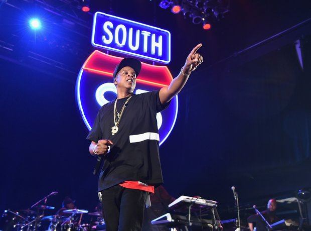 Jay-Z performs during TIDAL X