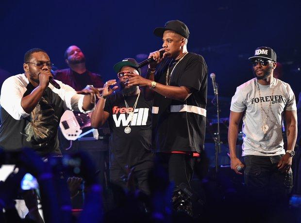Jay Z Tidal Concert
