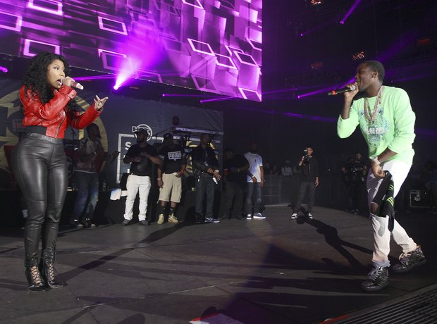Meek Mill Nicki Minaj Summer Jam 2015