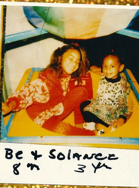 Throwback Thursday Beyonce and Solange