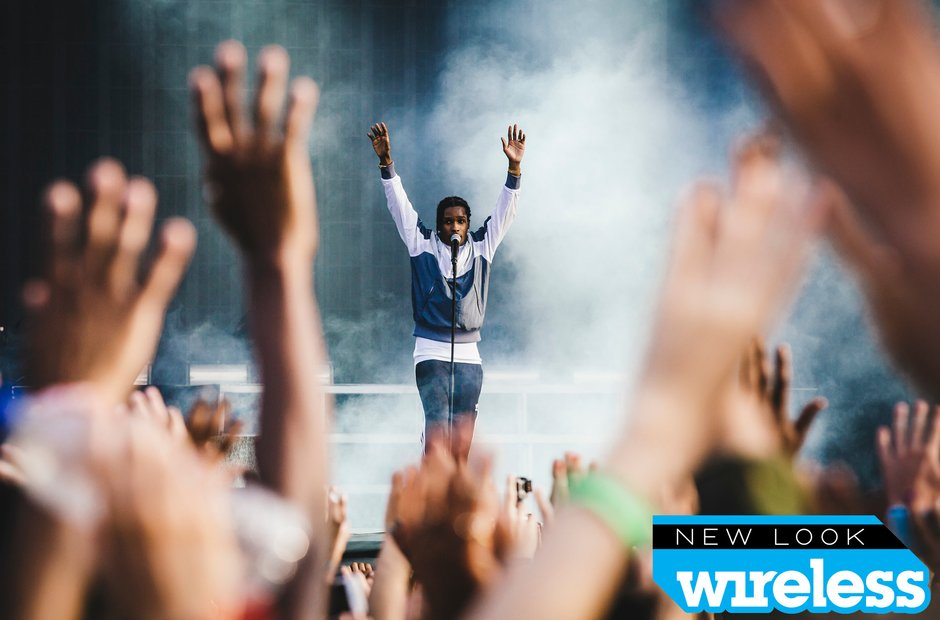 A$AP Rocky Wireless Festival 2015