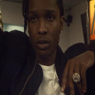 A$AP Rocky stood next to friends