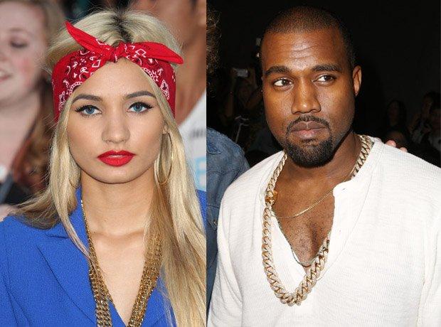 Pia Mia and Kanye West